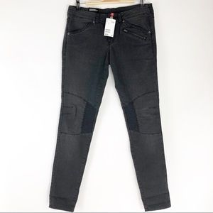 Divided by H&M Super Slim Leg Moto Jeans - Size 10